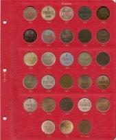 Альбом для монет Великого Княжества Финляндского в составе Российской Империи / страница 2 фото