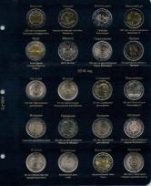 Альбом для памятных и юбилейных монет 2 Евро. Том II / страница 3 фото