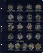 Альбом для памятных и юбилейных монет 2 Евро. Том II / страница 5 фото