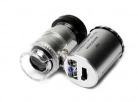 Микроскоп для монет, с подсветкой 45х/60х, стереоскопический / страница 3 фото
