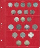 Альбом для монет Великого Княжества Финляндского в составе Российской Империи / страница 6 фото