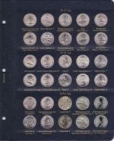 Альбом для юбилейных монет США 25 центов (по монетным дворам) / страница 6 фото
