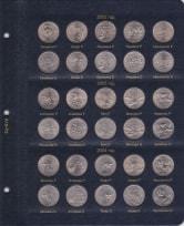 Альбом для юбилейных монет США 25 центов (по монетным дворам) / страница 2 фото