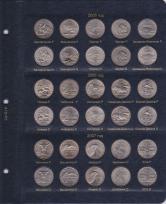 Альбом для юбилейных монет США 25 центов (по монетным дворам) / страница 3 фото