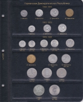 Альбом для памятных и регулярных монет ГДР / страница 1 фото