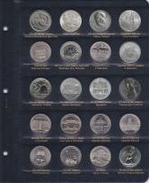 Альбом для памятных и регулярных монет ГДР / страница 3 фото