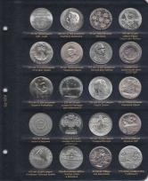 Альбом для памятных и регулярных монет ГДР / страница 5 фото