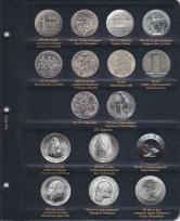Альбом для памятных и регулярных монет ГДР / страница 6 фото