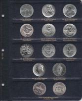 Альбом для памятных и регулярных монет ГДР / страница 8 фото