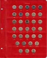 Альбом под регулярные монеты СССР 1961-1991 гг. (по номиналам) / страница 5 фото