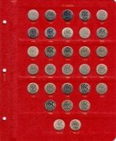 Альбом под регулярные монеты СССР 1961-1991 гг. (по номиналам) / страница 6 фото