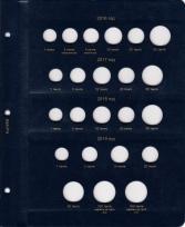 Альбом для монет регулярного чекана Республики Казахстан / страница 4 фото
