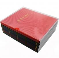 Альбом-кляссер для хранения почтовых марок (10 двусторонних листов с 1 ячейкой) / страница 3 фото