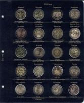 Альбом для памятных и юбилейных монет 2 Евро. Том II / страница 6 фото