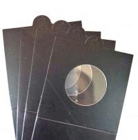 Холдеры для монет самоклеющиеся (цвет черный) / страница 2 фото