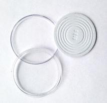 Универсальные капсулы со вставками от 16 до 40 мм (белые) / страница 2 фото