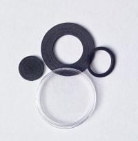 Универсальные капсулы со вставками от 16 до 40 мм (черные) / страница 1 фото