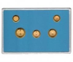 Годовой набор монет Казахстана 1993 год (5 монет) / страница 2 фото