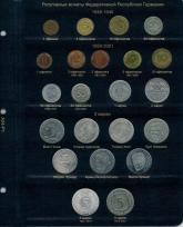 Альбом для памятных и регулярных монет ФРГ / страница 1 фото