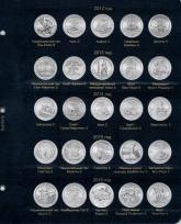 Комплект листов для монет США 25 центов (монетный двор Сан-Франциско) / страница 1 фото
